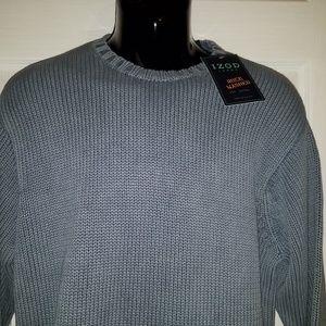 Izod Sweaters - IZOD Jeans Dusty Blue Pullover Sweater Medium Knit